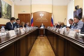 Михаил Мурашко провел заседание Координационного совета по ГЧП