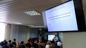 В Свердловском онкодиспансере стартовал новый учебный год для врачей, студентов и пациентов