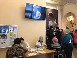 Кардиопосты свердловских поликлиник стали хорошей традицией городских мероприятий региона